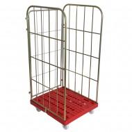 Metalowa klatka transportowa na kółkach N6